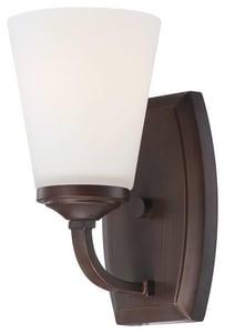 Minka-Lavery Overland Park 100W 1-Light Bath Light in Vintage Bronze M6961284