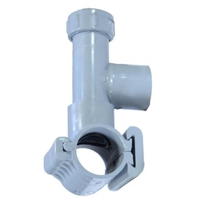 NDS Flo-Tap™ 2 in. Hot/Wet Tap PVC Saddle for 1-1/2 in. and 2 in. PVC Pipes Service Lines NDS3220