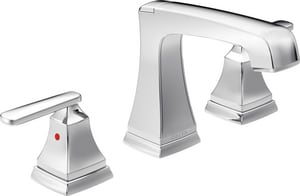 Delta Faucet Ashlyn™ Two Handle Widespread Bathroom Sink Faucet in Polished Chrome D3564MPUDST