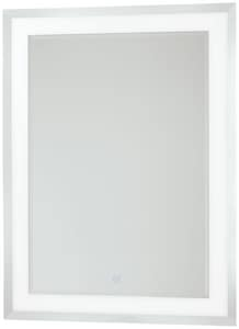 George Kovacs 32 x 24 in. Rectangular Mirror with LED Light KP6109