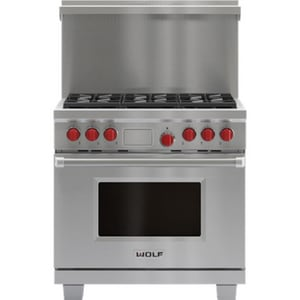 Wolf Range 20 x 36 in. Riser for Dual Fuel Range in Stainless Steel W804171