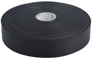 PROSELECT® 1-3/4 in. x 100 yd. Polyethylene Woven Duct Strap in Black PSDSB