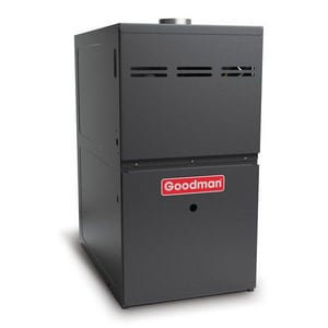 Goodman GMH8 Series 14 in. 80% 3 Ton Two-Stage Upflow and Horizontal 1/3 hp Natural or Propane Furnace GGMH83AX