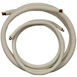 JMF EZ-Pull® 3/8 x 3/4 in. x 25 ft. EZ Pull Insulation Copper Mini-Split Line Set JMLS38341225