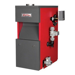Crown Boiler Cayman® Commercial and Residential Gas Boiler 172 MBH Natural Gas CCWI172ENTT1PSU