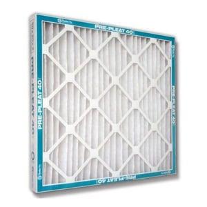 Flanders Precisionaire Pre Pleat™ 40 LPD 25 x 25 x 2 in. Air Filter Non-Woven Synthetic MERV 8 F80055022525