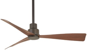 Minka-Aire Simple 3 -Blade Ceiling Fan with 44 in. Blade Span in Oil Rubbed Bronze MF786ORB