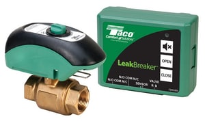 Taco LeakBreaker™ 3/4 in. Forged Brass and Plastic 300 psi NPT Shut Off Valve TLB075H1LF