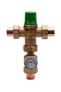 Taco 5000 Series 3 4 In Union Sweat Mixing Valve Connection With Gauge 5003 C3 G Ferguson