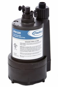 PROFLO® 1/3 HP Thermoplastic Submersible Utility Pump PF91335 at Pollardwater