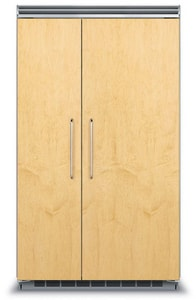 Viking Range 48 in. 29.1 cf Custom Panel Built-In Side-By-Side Refrigerator in Panel Ready VFDSB5483