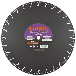 Cutter Diamond Products Demolition 16 in Demolition Blade CHD16140