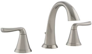 Signature Hardware Provincetown Two Handle Widespread Bathroom Sink Faucet in Polished Nickel MIRWSCPR800PN