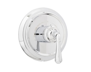 Mirabelle® Key West Thermostatic Valve Trim with Single Lever Handle in Polished Chrome MIRKW9009