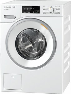 Miele Appliances 25-5/16 x 34-3/4 x 23-1/2 in. 2.26 cf 13-Cycle Electric Front Load Washer in Lotus White MWWF060WCS