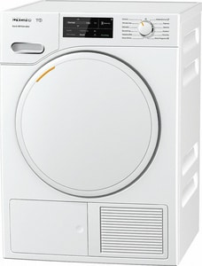 Miele Appliances 25-31/100 x 34-3/4 x 23-1/2 in. 4.1 cf Electric 12-Cycle Front Load Dryer in White MTWF160WP
