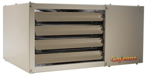 Advanced Distributor Products FSA Series 25 in. 75 MBH 75000 BTU 950 cfm Horizontal Liquid Propane Gas Unit Heater AFSAP75