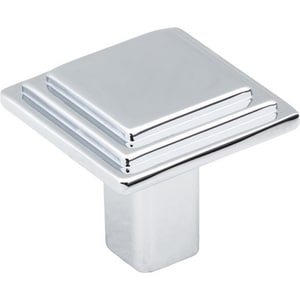 Calloway Cabinet Knob with Screw in Polished Chrome H351PC