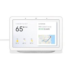 Google Nest Google Home Hub Smart Home Controller in White NGA00516US