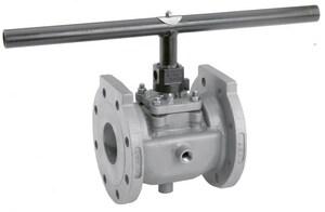 Xomox Figure 067 1-1/2 in. Ductile Iron 235 psi Flanged Locking Handle Plug Valve X06710P1WYJ