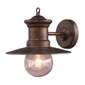ELK Lighting 60W 1-Light Medium E-26 Incandescent Extension Sconce in Hazlenut Bronze E420051