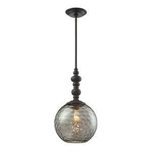 ELK Lighting Watersphere 1-Light Pendant in Oil Rubbed Bronze E313811OB