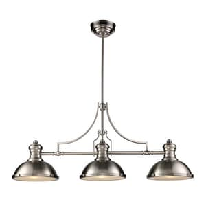 Elk Lighting Chadwick 21 in. 3-Light Pendant in Satin Nickel E661253