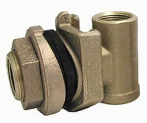 American Granby 1 in. Brass Pitless Adapter APT700NL