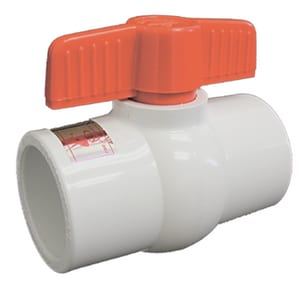 American Granby SCH 80 Series 1/2 in. PVC Socket Schedule 80 2-way Ball Valve with EPDM Seat AHMIP50SE
