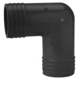 3/4 in. Insert Straight PVC 90 Degree Elbow PI9F