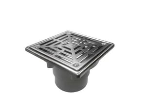 Infinity Drain Strainer in Polished Steel ILW52PPS