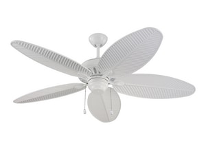 Monte Carlo Cruise 67.8W 5-Blade Ceiling Fan with 52 in. Blade Span in White M5CU52WH