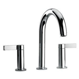 Fortis Brera 10 gpm 3-Hole Deckmount Roman Tub Faucet Trim with Double Lever Handle in Polished Chrome F9210200PC