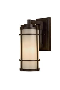 Minka Andrita Court™ 13W 1-Light Outdoor Wall Sconce in Textured French Bronze M72023A179PL