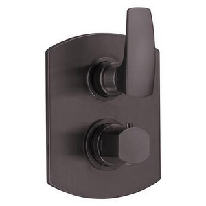 Fortis Serie San Marco Two Handle Bathtub & Shower Faucet in Tuscan Bronze (Trim Only) F8969100TB