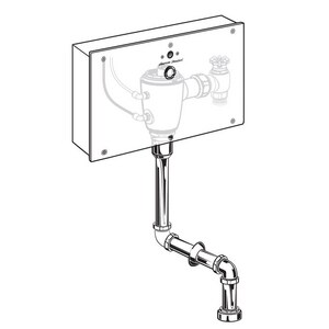 American Standard Selectronic® 11 in. 1 gpf Sensor Operated Concealed Urinal Flush Valve with Wall Box and Top Spud A606B410007
