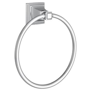 American Standard TS Series Round Closed Towel Ring in Polished Chrome A7455190002