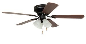 Craftmade International Brilliante 60W Ceiling Fan with Light Kit in Oil Rubbed Bronze CBRC52ORB5C