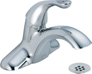 Delta Faucet Classic Series Centerset Lavatory Faucet with Lever Handle in Polished Chrome D523LFHDF
