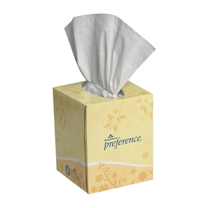 Georgia-Pacific Preference® 8-17/20 in. Facial Tissue in White (Case of 36) G46200