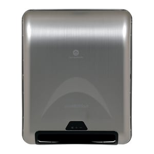 Georgia-Pacific enMotion® 16-2/5 in. Recessed Automated Roll Towel Dispenser in Stainless G59466A