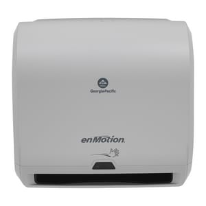 Georgia-Pacific enMotion® 14 in. Automated Touchless Roll Paper Towel Dispenser in Grey G5948A