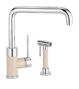 Blanco America Purus I™ 1-Hole Kitchen Faucet with Single Lever Handle in Polished Chrome B441206