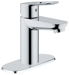 Grohe BauLoop 1.5 gpm Centerset Faucet with Single Lever Handle in Starlight Polished Chrome (Less Drain) G20334000