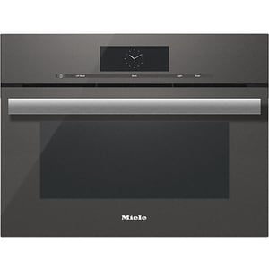 Miele Appliances M-Touch Series 23-7/16 in. 20A 1.7 cf Combi-Steam Oven in Graphite Grey MDGC68001XLGRGR