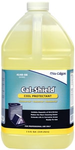 Nu-Calgon Cal-Shield® 1 gal Translucent Yellow Coil Cleaner N414808
