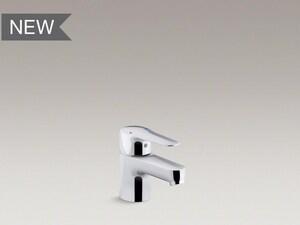 KOHLER July™ Single Handle Monoblock Bathroom Sink Faucet in Polished Chrome K16027-4-CP