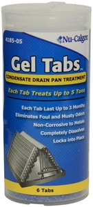 Nu-Calgon Gel Tabs Red Hydronic System Cleaner N418505