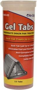 Nu-Calgon Gel Tabs 12 x 1 Gel Tabs Condensate Drain Pan Treatment 3 Ton N418503