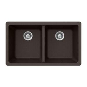 Houzer Quartztone® 2-Bowl Undermount Composite Kitchen Sink HM200U